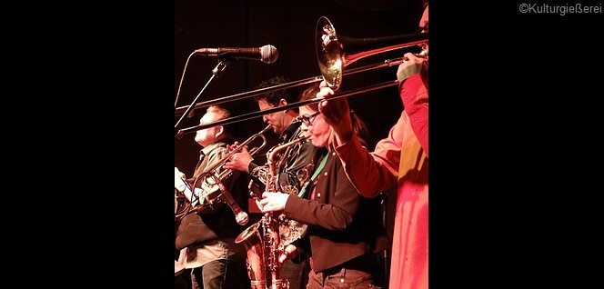 Modern Soul Band Konzert - Modern Soul Band in der